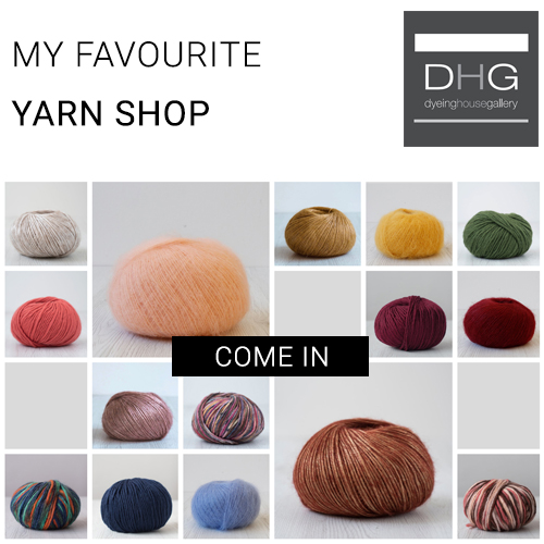 Wool yarn DHG